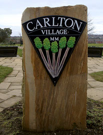 carlton-village-sign