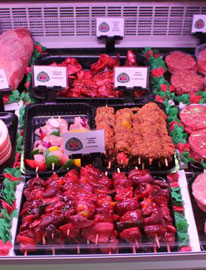 Rhubarb Triangle Farm Shop Meat Selection